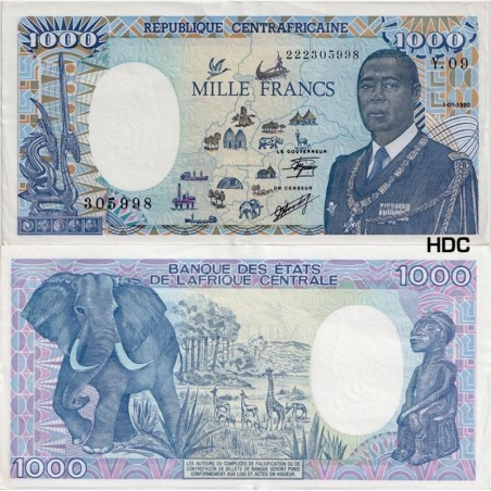 Billets de Centrafrique