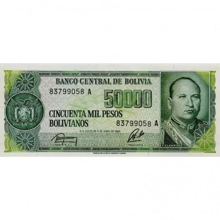 Billets de Bolivie