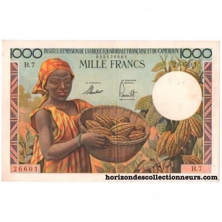 Billets d'Afrique équatoriale Française