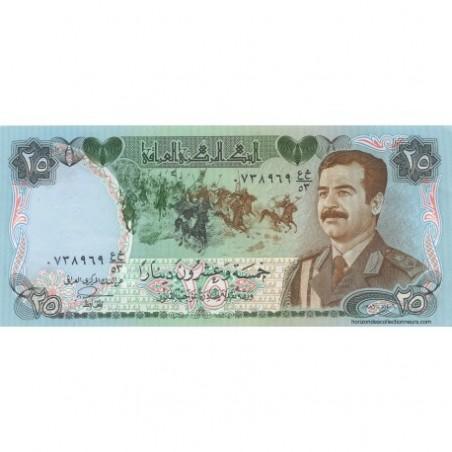 Billets d'Irak