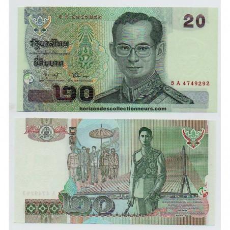 Billets de Thaïlande
